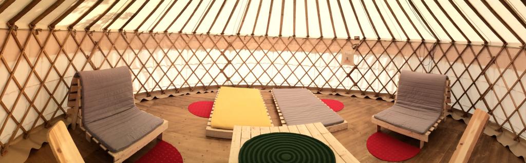 Yurt TCS inside_Zeltwelt. Ch